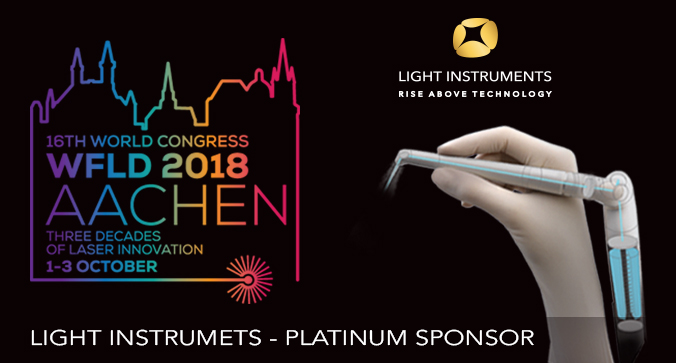 Light Instruments Platinum Sponsor of WFLD 16 World Congress