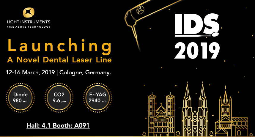 Novel cutting-edge dental laser line will be presented at IDS Exhibition