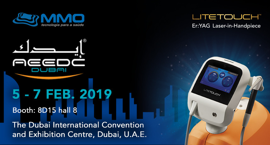 For the first time ever LiteTouch™ will be presented at the AEEDC DUBAI
