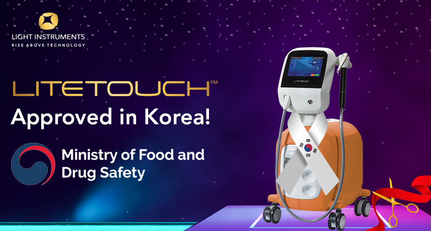 LiteTouch™ is MFDS approved and ready for sale in Korea!