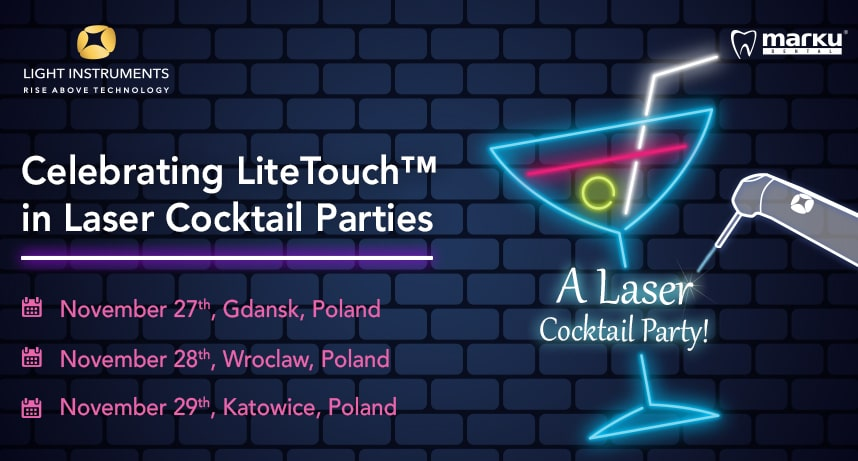 LiteTouch™ Laser Cocktail party