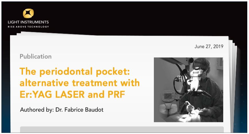 The Periodontal Pocket: Alternative treatment with Er:YAG LASER and PRF