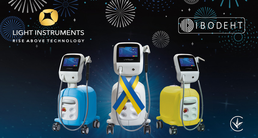 Ivodent to exclusively distribute the LiteTouch™ Er:YAG Dental Laser in Ukraine