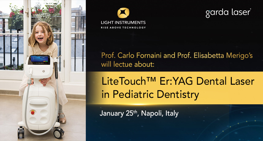 Use of LiteTouch™ Er:YAG Dental Laser in Childhood Dentistry: Operational and Clinical Advantages