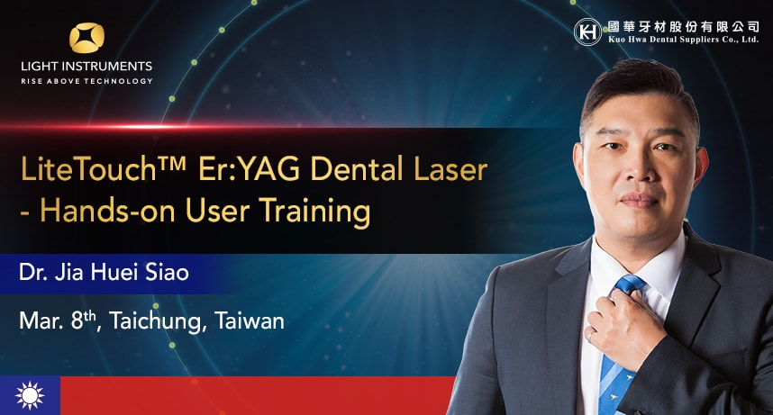 LiteTouch™ Er:YAG Dental Laser – Hands-on User Training