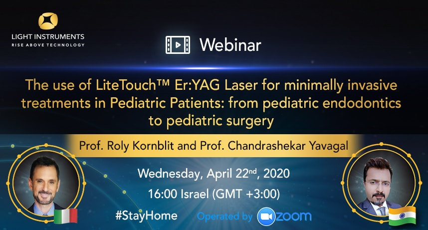 <strong>The use of LiteTouch™ Er:YAG Laser for minimally invasive treatments in Pediatric Patients: from pediatric endodontics to pediatric surgery</strong>