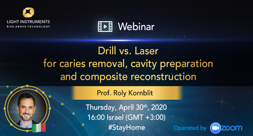 <strong>Drill vs. Laser for caries removal, cavity preparation and composite reconstruction </strong>