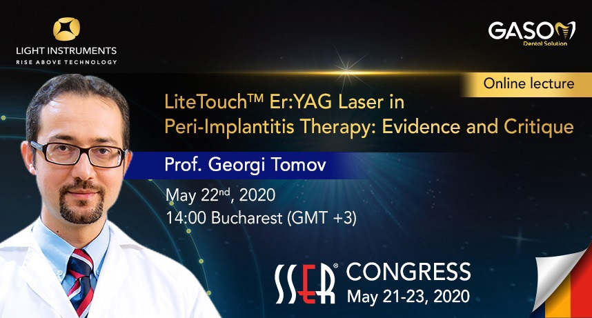 Er:YAG Laser in Peri-Implantitis Therapy: Evidence and Critique – Online Lecture