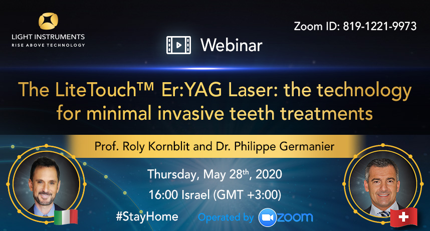 <strong>The LiteTouch™ Er:YAG Laser: the technology for minimal invasive teeth treatments</strong>