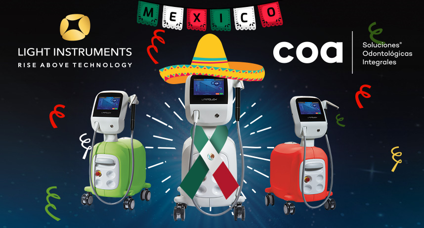 COA International to exclusively distribute the LiteTouch™ Er:YAG Dental Laser in Mexico