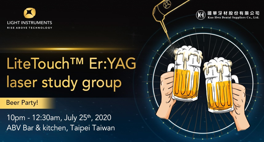 LiteTouch™ Laser Study Group and Beer Testing evening