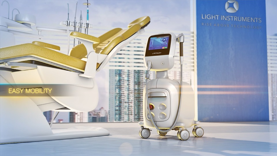 <strong> LiteTouch™ is the world's smallest Er:YAG dental laser</strong>