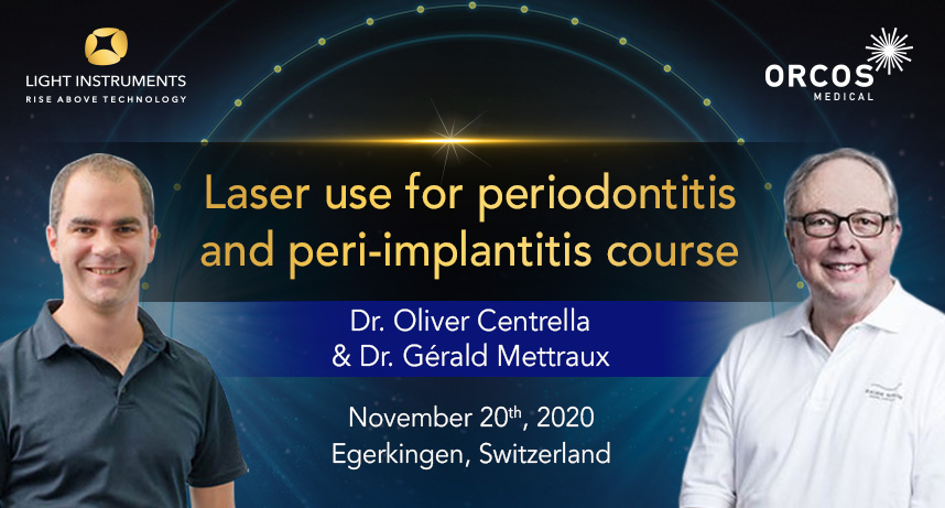 Laser use for Periodontitis and Peri-implantitis Course
