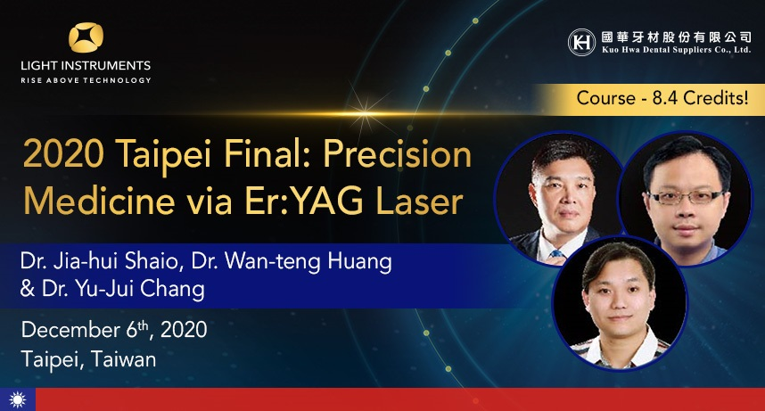 2020 Taipei Final: Precision Medicine via Er:YAG Laser