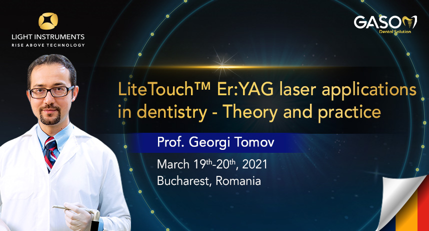 LiteTouch™ Er:YAG Laser Applications in Dentistry – Theory and Practice