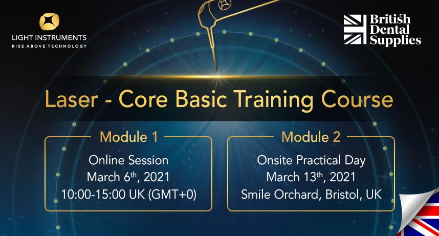 Laser – Core Basic Training (Module 1 + Module 2)