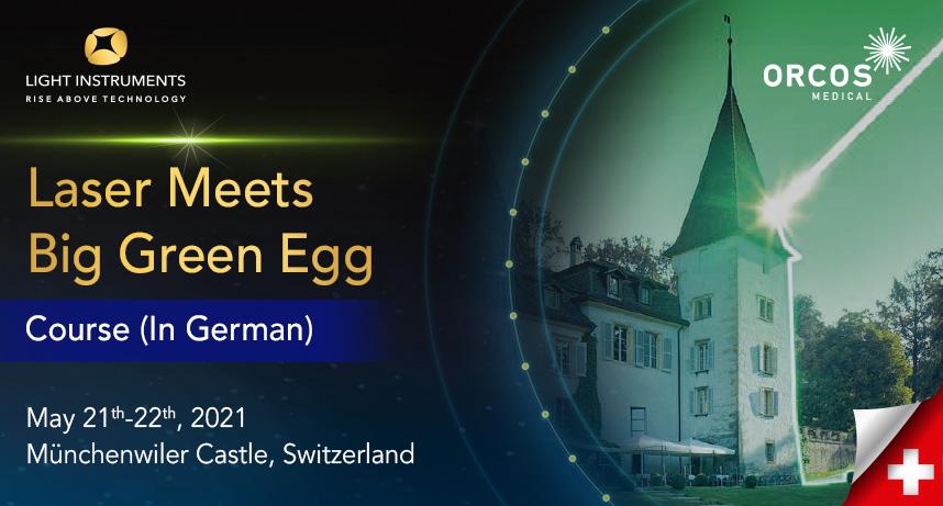 Laser Meets Big Green Egg (German Lang)